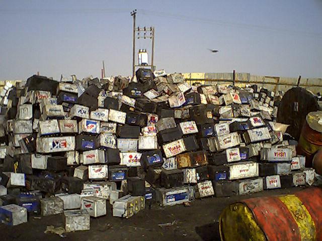 ضایعات باتری یو پی اس